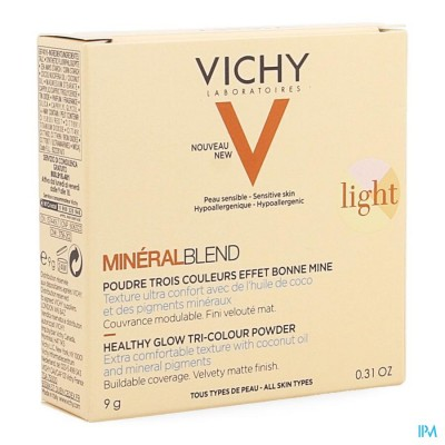 Vichy Mineralblend Pdr Light 9ml