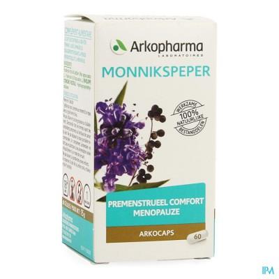 Arkocaps Monnikspeper Caps 60 Cfr 3738481