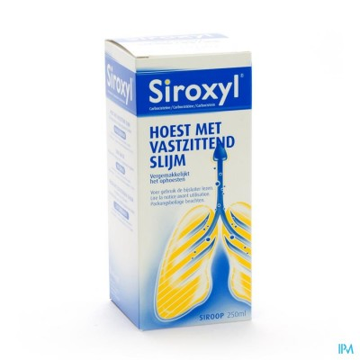 Siroxyl Sir 1 X 250ml 250mg/5ml