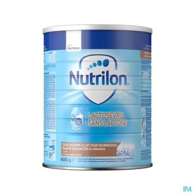 Nutrilon Lactosevrij poeder 800g Volledige zuigelingenvoeding