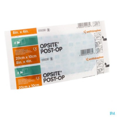 OPSITE POST OP N 20,0CMX10,0CM 1 66000713