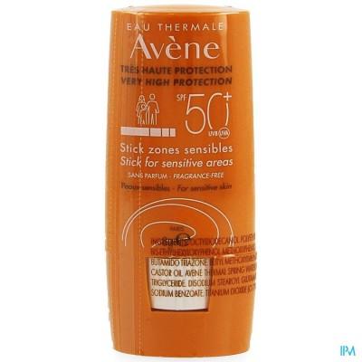 Avene Zon Ip50+ Stick Gevoelige Zones 8ml