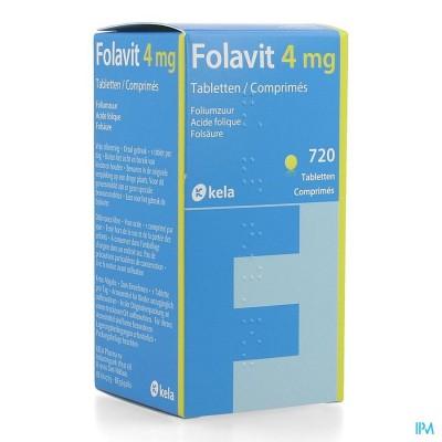 Folavit 4mg Comp 720 X 4mg