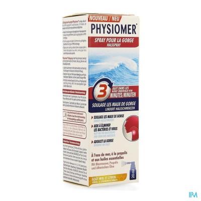 Physiomer Keelpijn Spray 20ml