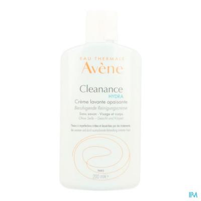 Avene Cleanance Hydra Wascreme Verzachtend 200ml