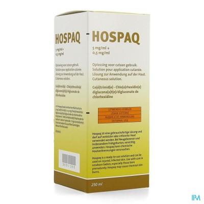 HOSPAQ 5MG/ML + 0,5MG/ML OPL CUTAAN 1X250ML