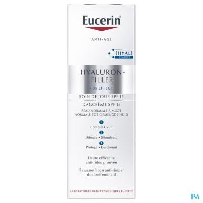 EUCERIN HYALURON-FILLER X3 DAGCREME IP15 N/M 50ML