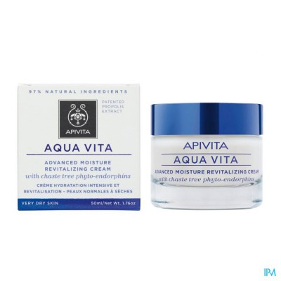 Apivita Aqua Vita Creme Intensief Hydra Zdh 50ml
