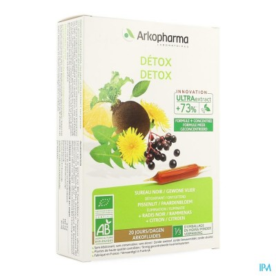 Arkofluide Detox Bio Nf Amp 20