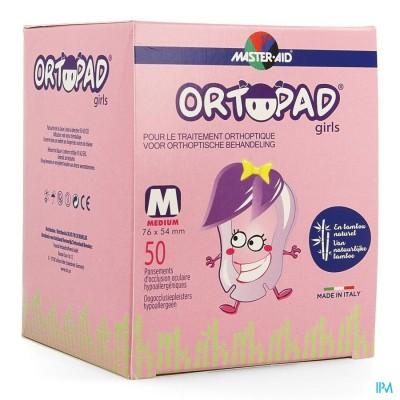 Ortopad For Girls Medium Oogkompres 50 73222