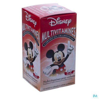 Disney Multivitamines Mickey Mouse 60