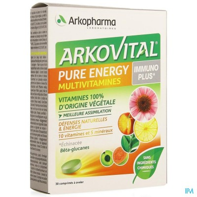 Arkovital Pure Energy Immunoplus Comp 30
