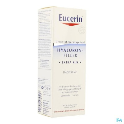 Eucerin Hyaluron Filler Extra Rijk Dagcreme 50ml