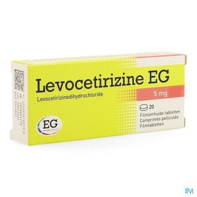Levocetirizine Eg 5mg Filmomh Tabl 20