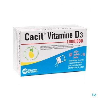 Cacit Vit. D3 1000/880 Sach Gran 30 Impexeco Pip