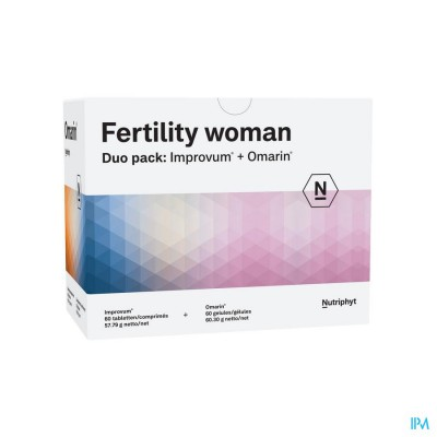 Fertility Woman Duo 60 Tabl Improv.+60 Caps Omarin