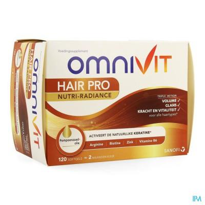 Omnivit Hair Pro Nutri Radiance Caps 120