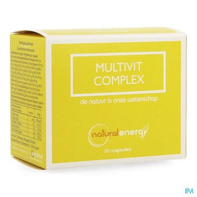 Multivit Complex Natural Energy Caps 30