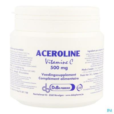 Aceroline 500 Kauwtabl 180 Deba