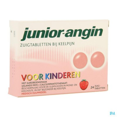 Junior Angin Zuigtabletten 24