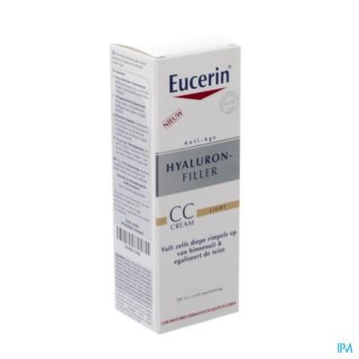 Eucerin Hyaluron Filler Cc Creme Light 50ml