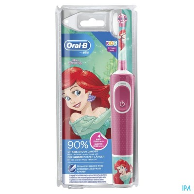 Oral B Kids D100 Princess Electrisch Tandenborstel
