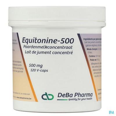 Equitonine V-caps 120x500mg Deba