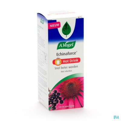 VOGEL ECHINAFORCE HOT DRINK SIROOP 100ML