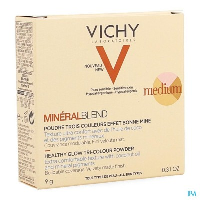 Vichy Mineralblend Pdr Medium 9ml