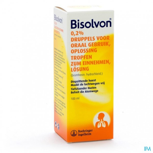 Bisolvon Sol Oraal 1x100ml 2mg/ml