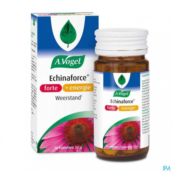 A.Vogel Echinaforce Forte + Energie 30 tabletten