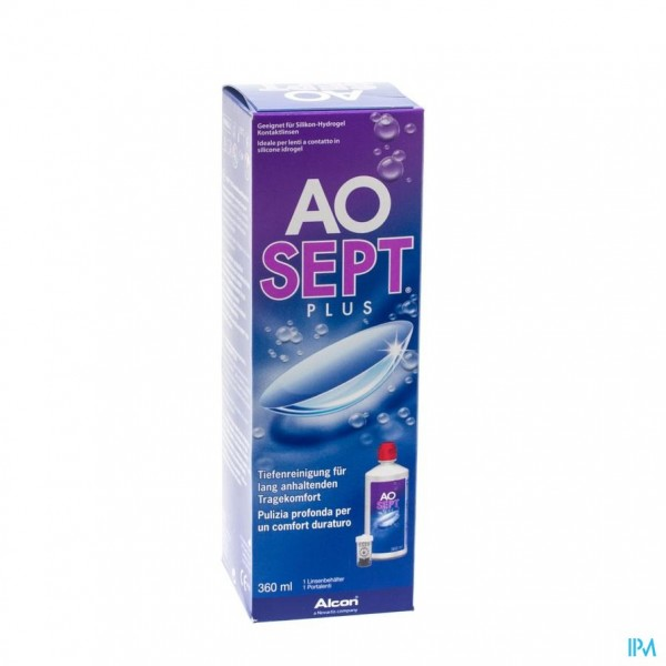 Aosept Plus Alle Lenzen 360ml