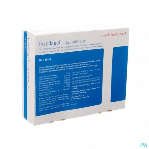 Instillagel Melisana 10 X 6ml