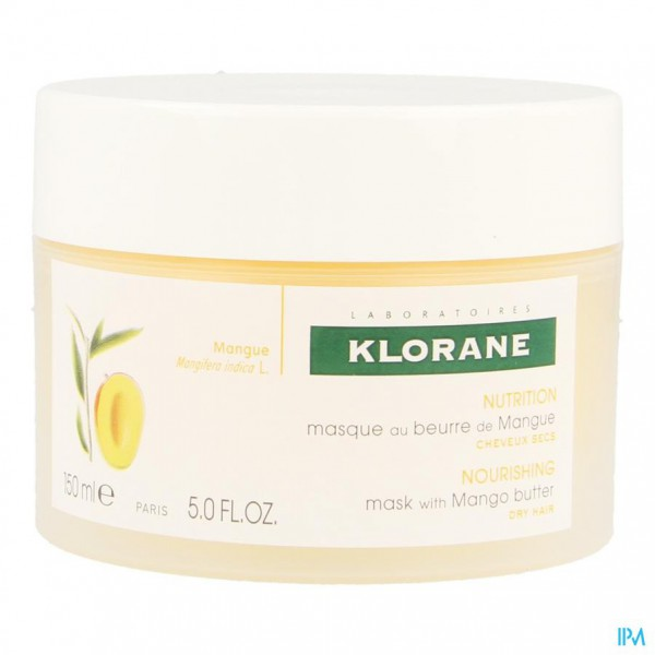 Klorane Capil. Masker Mango Pot 150ml